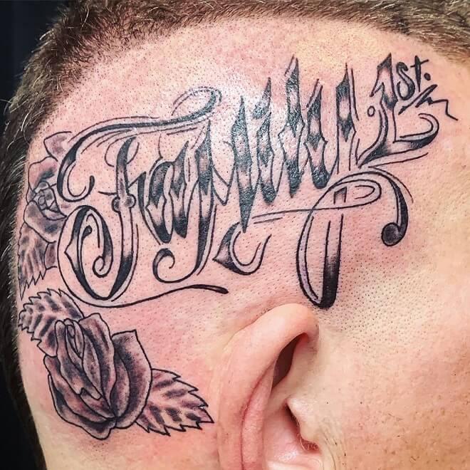Famiy Head Tattoos