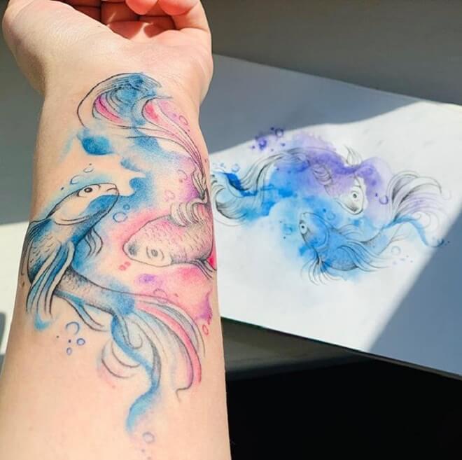 Finest Watercolor Tattoo