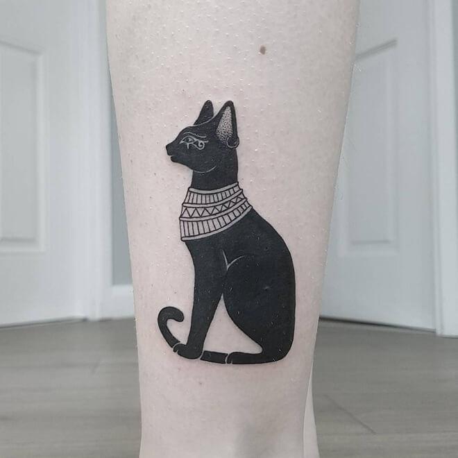 Flash Work Egyptian Tattoo