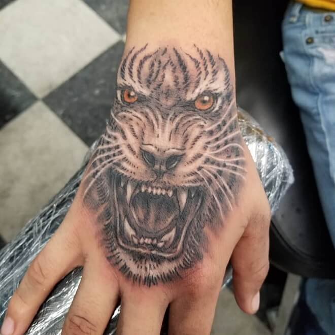 Fresh Ink Badass Tattoo