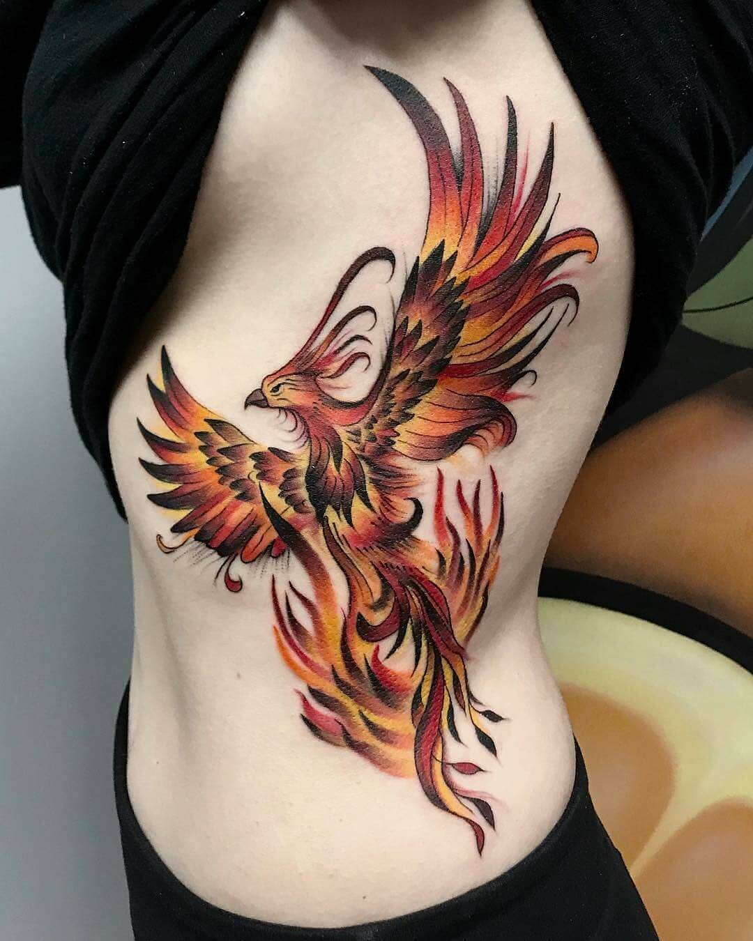 Fusionink Rib Cage Tattoo