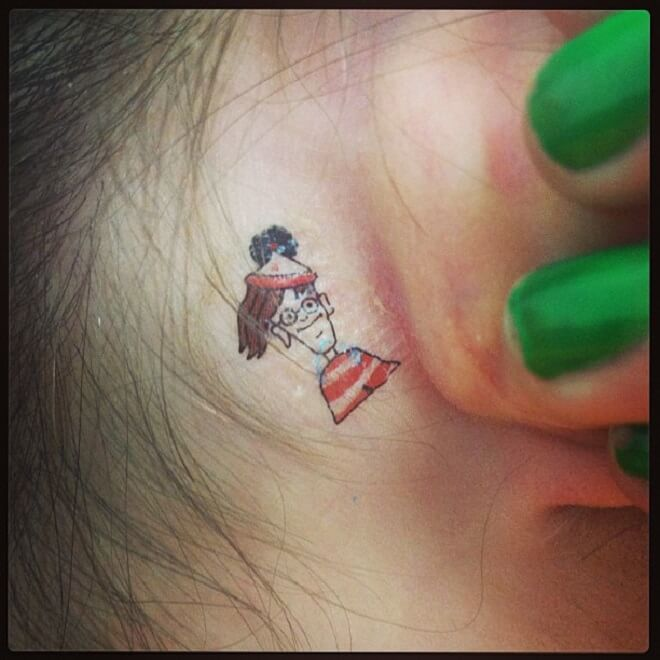 Howtotattify Waldo Tattoo