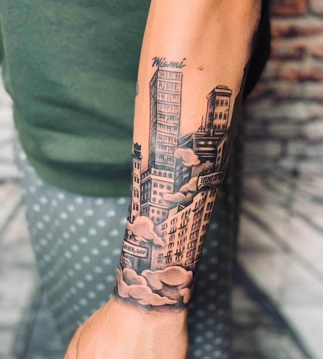 Incredible City Tattoo