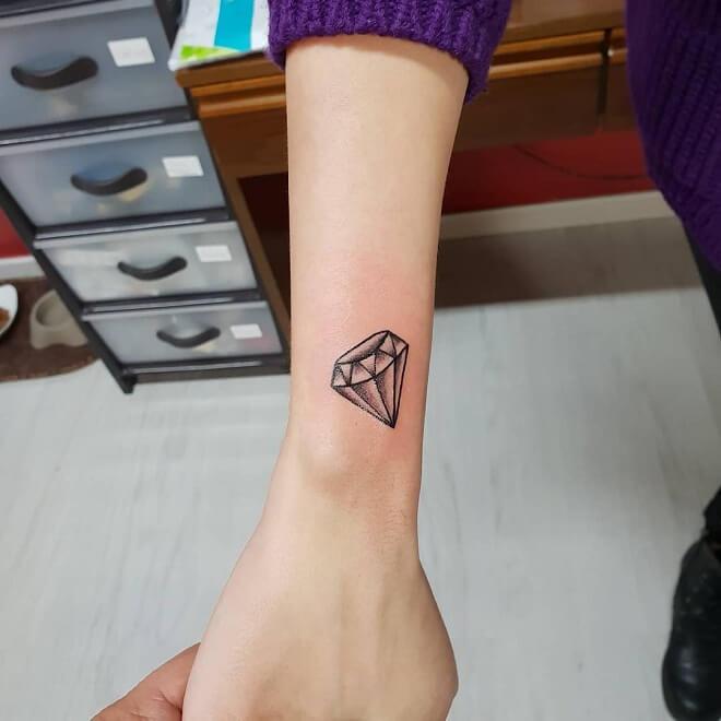 Inked Mag Diamond Tattoo