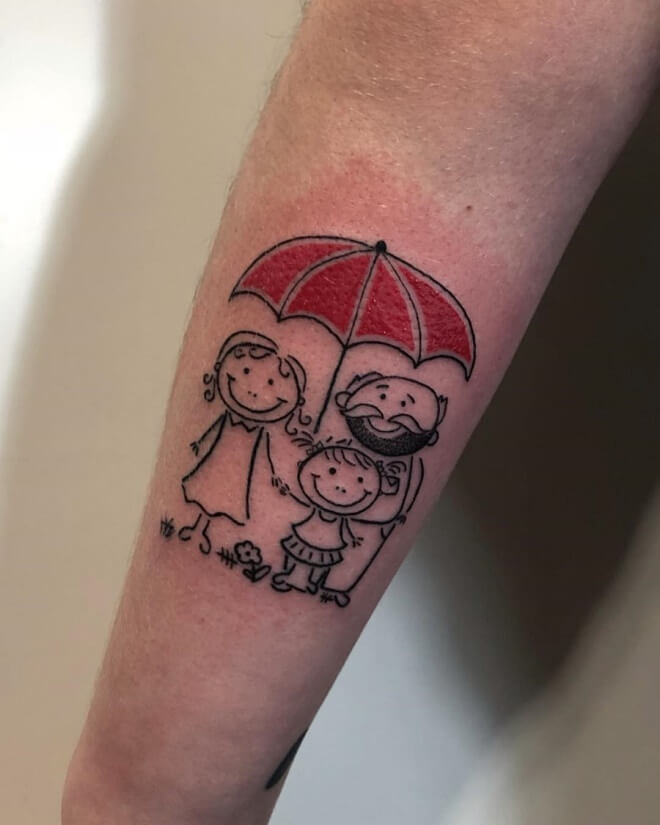 Inspiration Family Tattoo