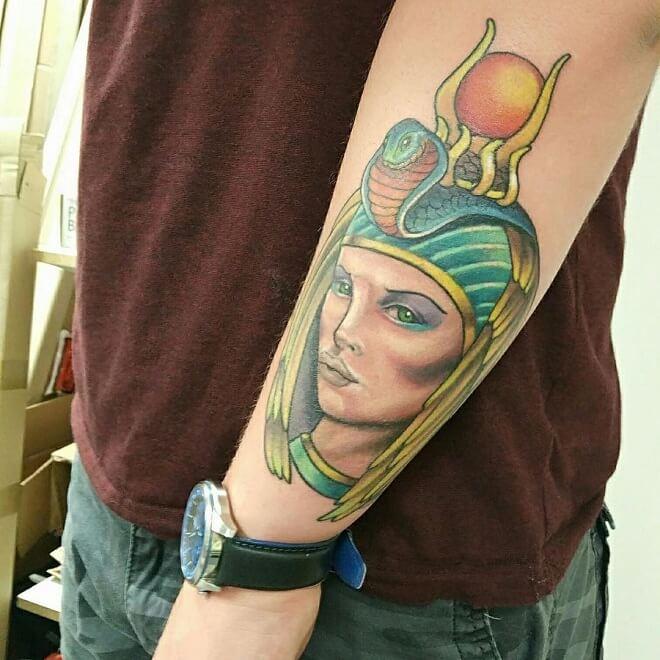 Jupiter Egyptian Tattoo