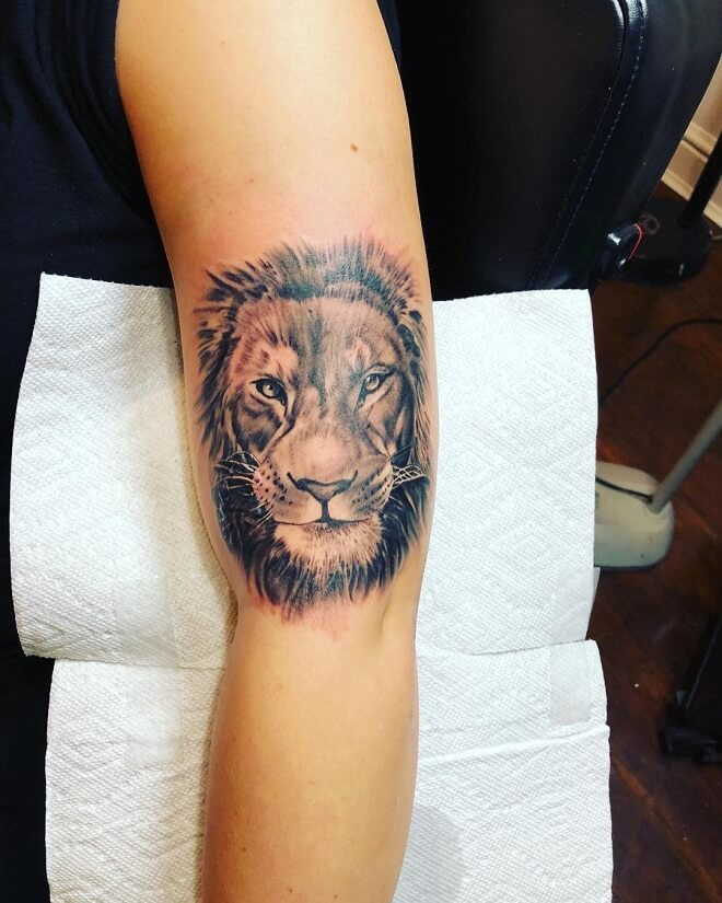 Lion Badass Tattoo