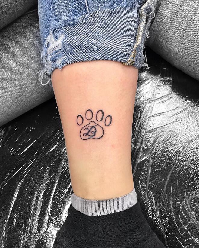Little Leg Tattoos