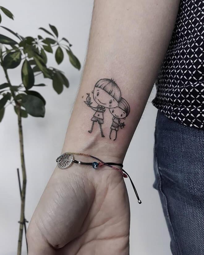 Little Mom Tattoo