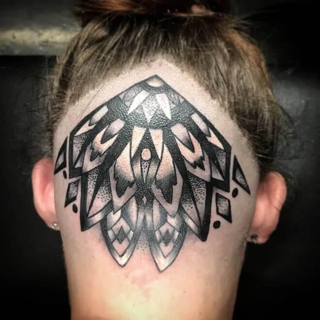 Lovemyjob Head Tattoo