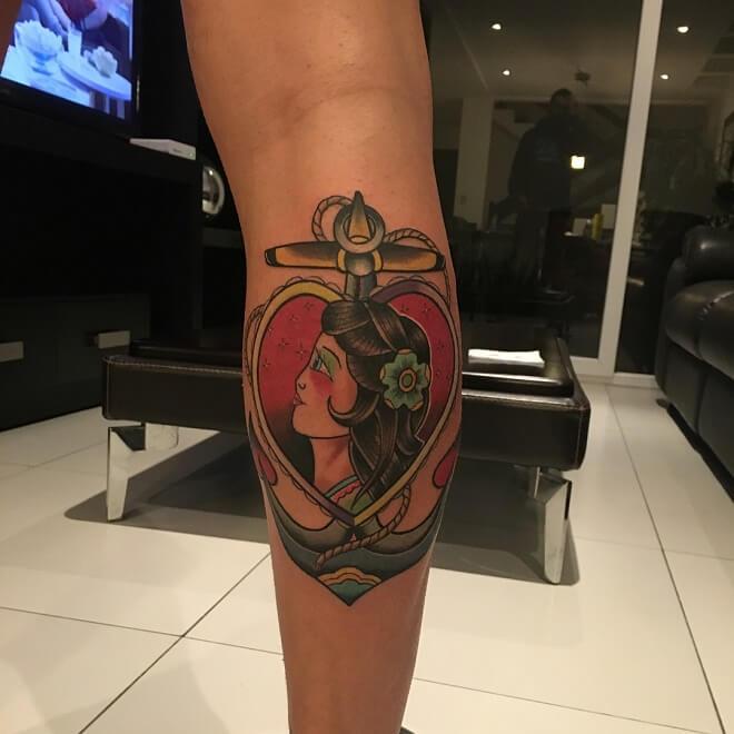 Mango Anchor Tattoo