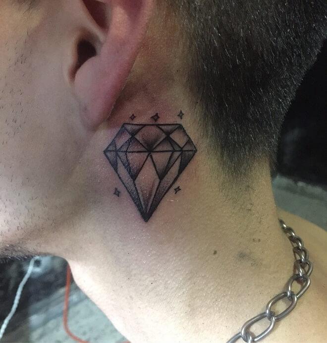 Minimal Diamond Tattoo