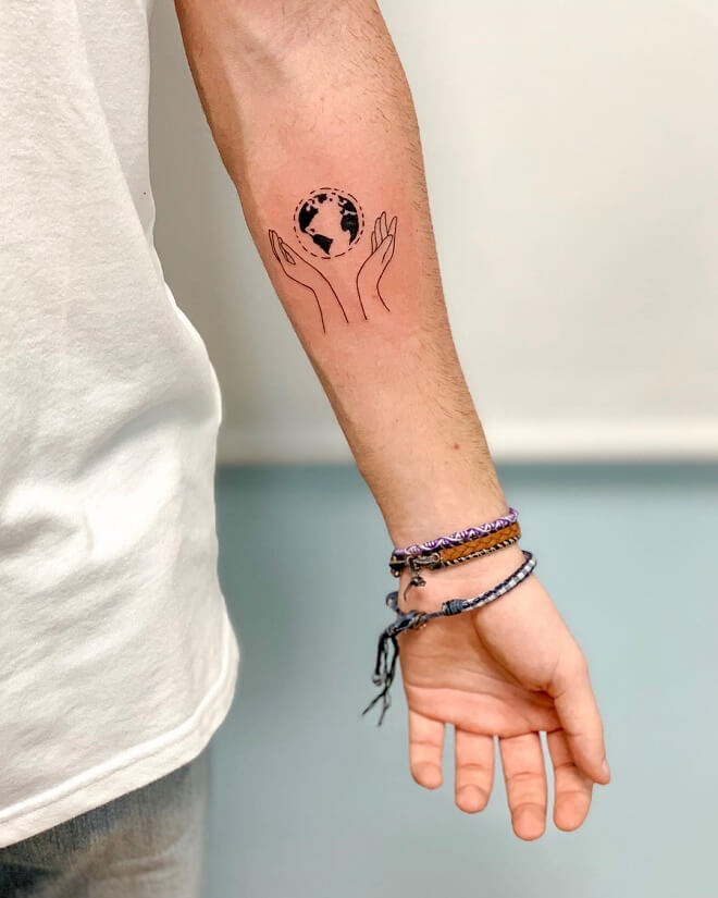 Minimalism Simple Tattoo