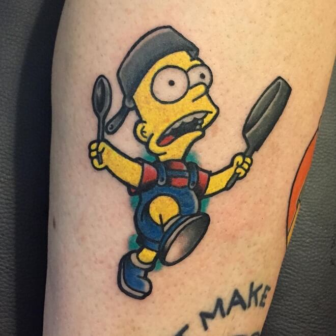 Motril simpsons Tattoo