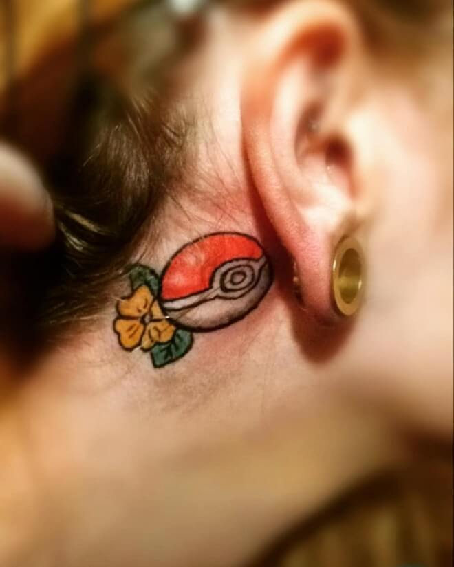 Nautical Ear Tattoos