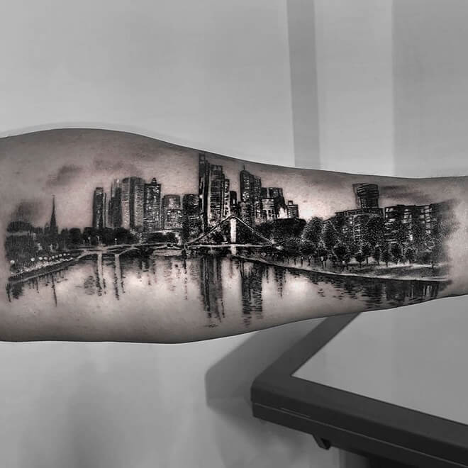 Night City Tattoo