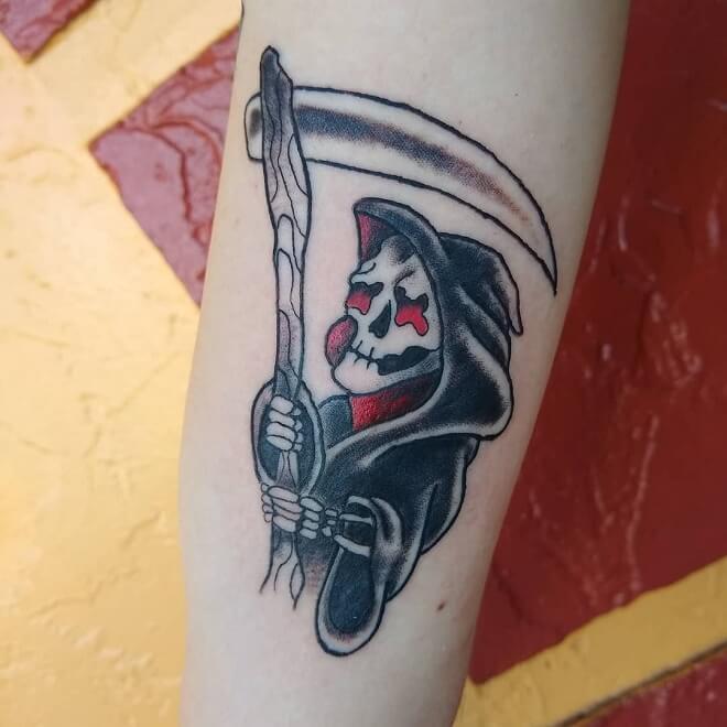 Orlando Grim Reaper Tattoo