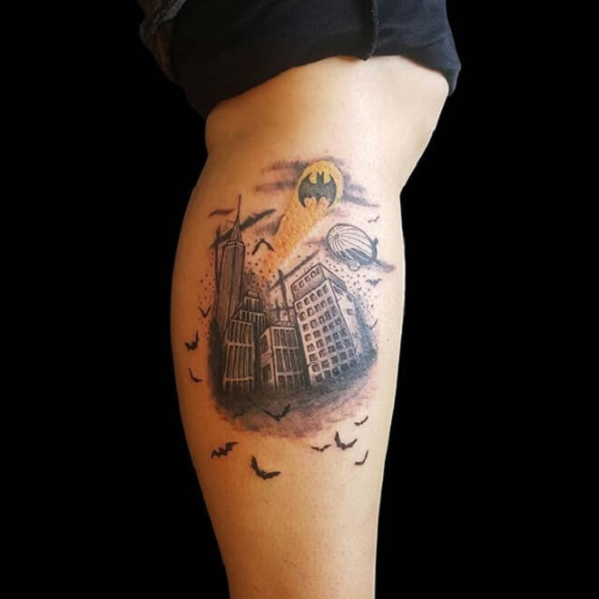 Popular City Tattoo