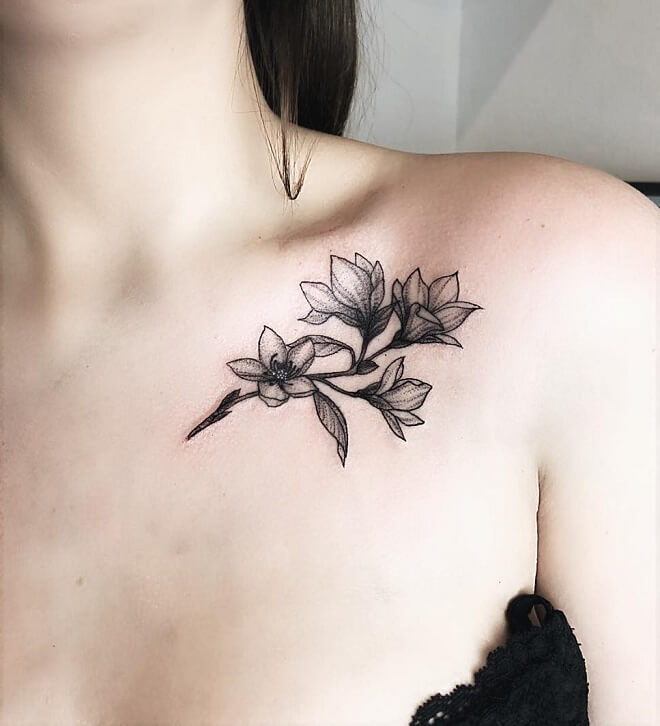 Right Chest Tattoo
