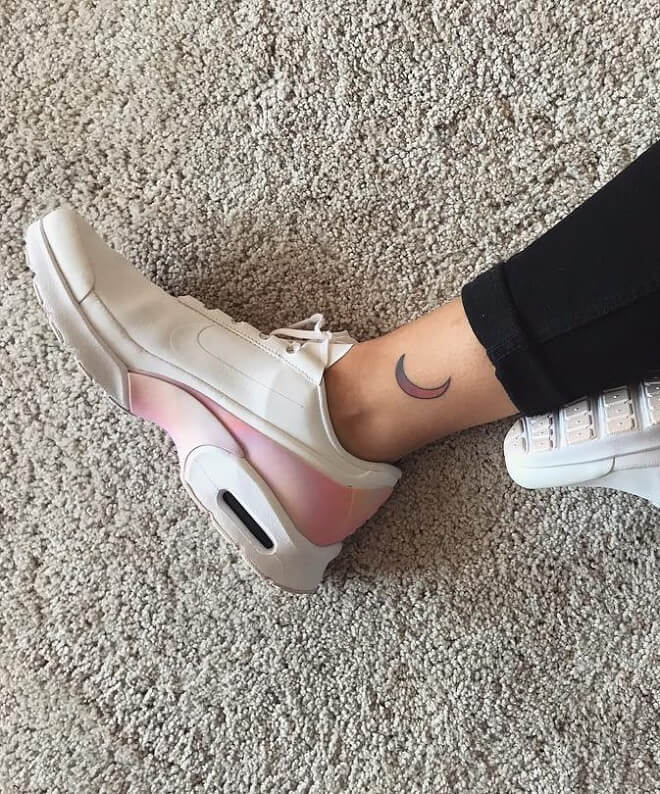 Shoes Moon Tattoo