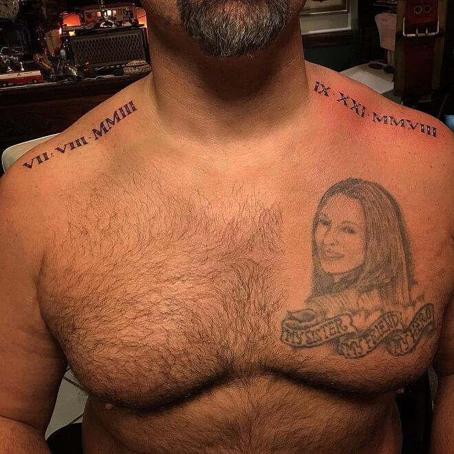 Shotsie Roman Numeral Tattoo