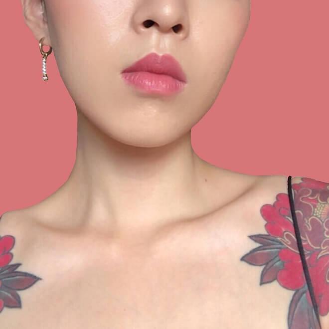 Shoulder Collar Bone Tattoo