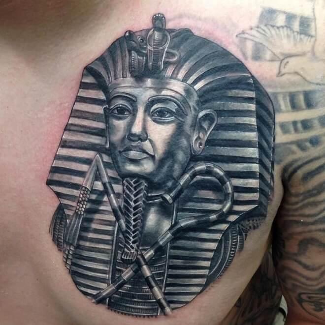 Shoulder Egyptian Tattoo