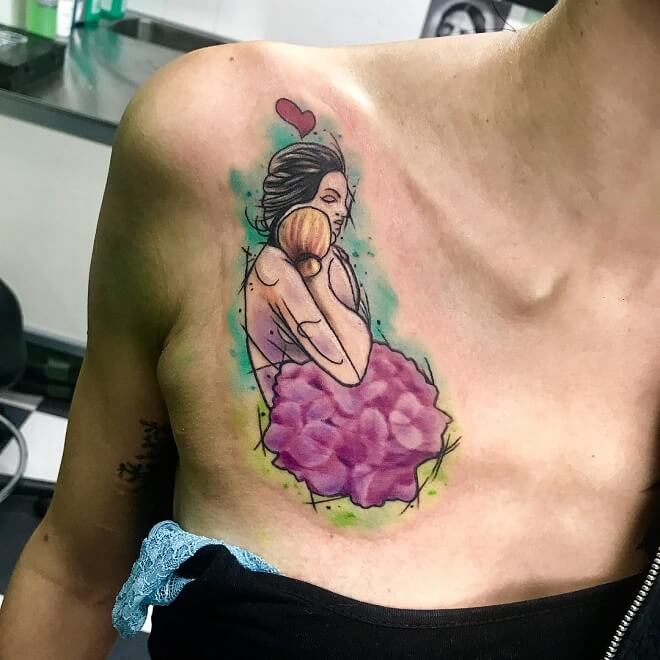 Shoulder Mom Tattoos