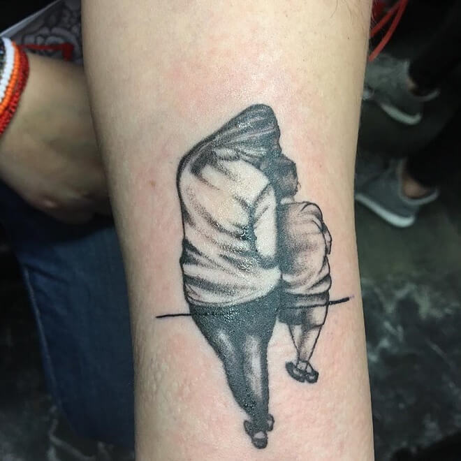 Sickside Mom Tattoo