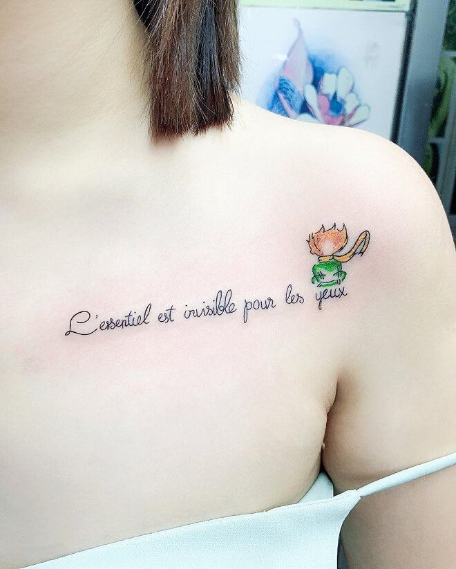 Small Quotes Tattoos