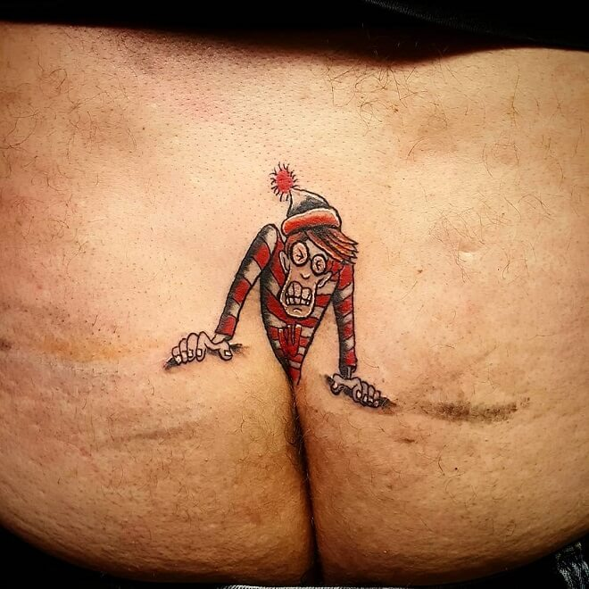 Spatz Waldo Tattoo
