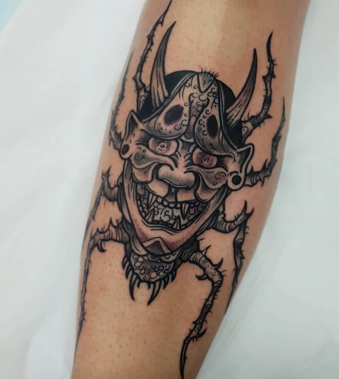 Spider Leg Tattoos