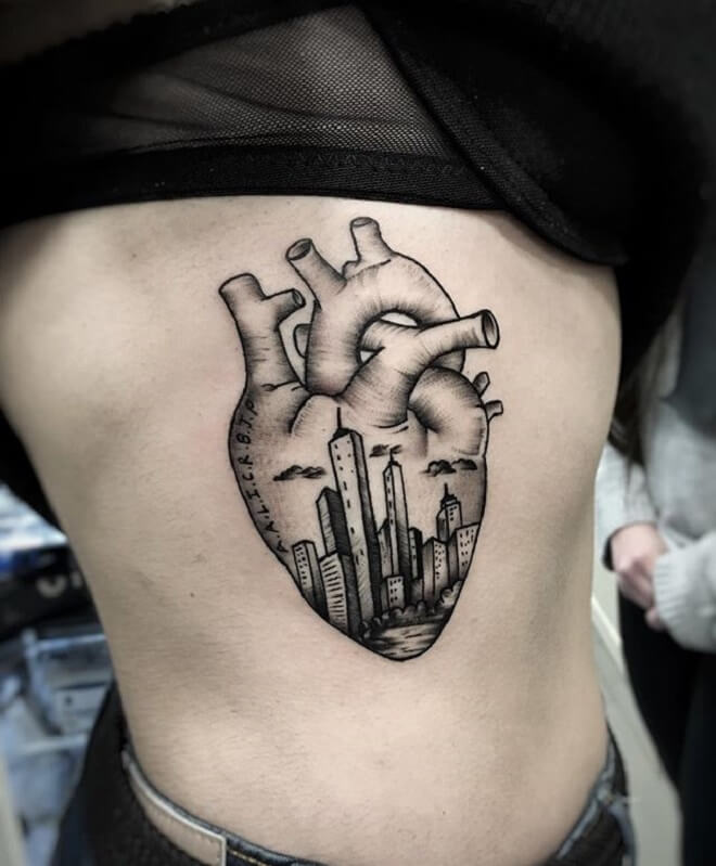 Stunning City Tattoo