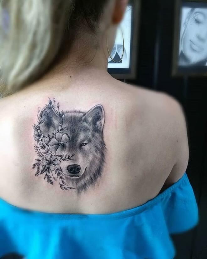 Stunning Wolf Tattoo