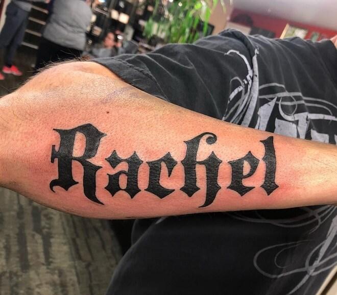 Style Name Tattoos