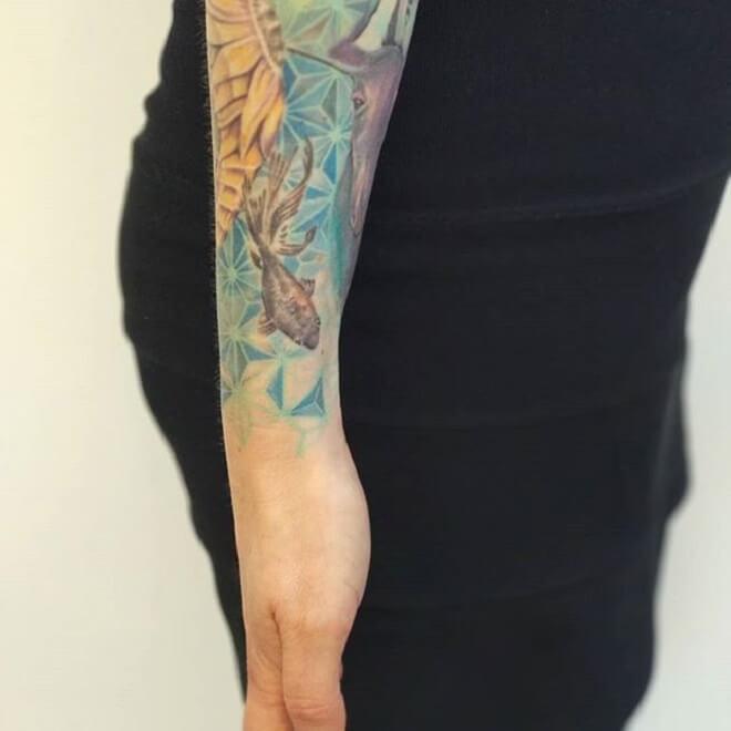 Super Watercolor Tattoo