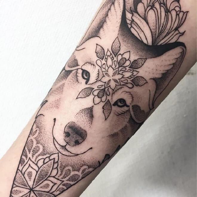 Super Wolf Tattoo Designs
