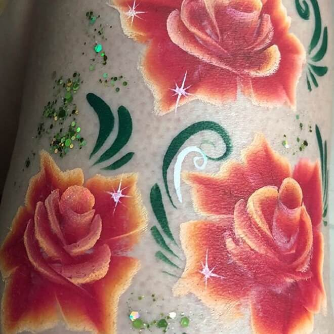 Supreme Watercolor Tattoo