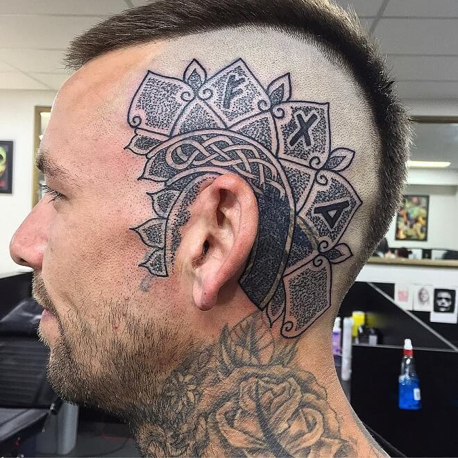 Tattrx Head Tattoos