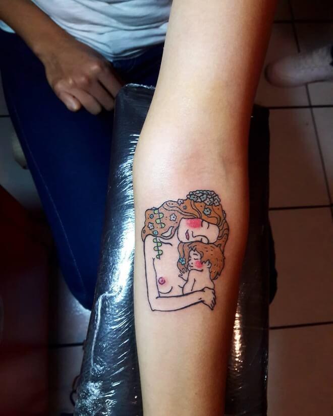 Traditional Mom Tattoo
