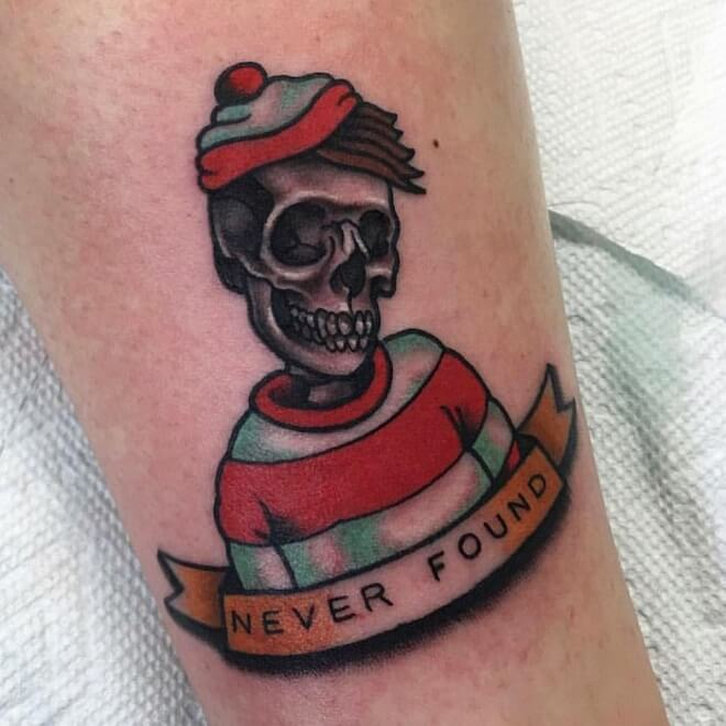 Waldo Tattoo for Women