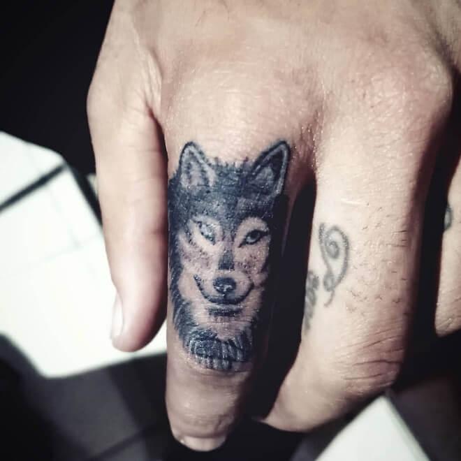 Wolf Small Tattoo