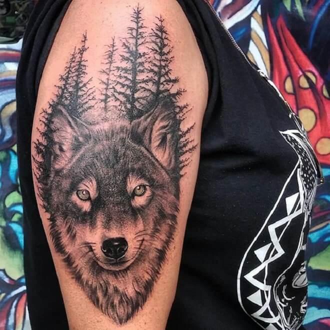 Wolf Tattoo Art