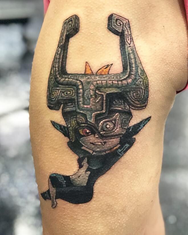 Zuper Black Chest Tattoos