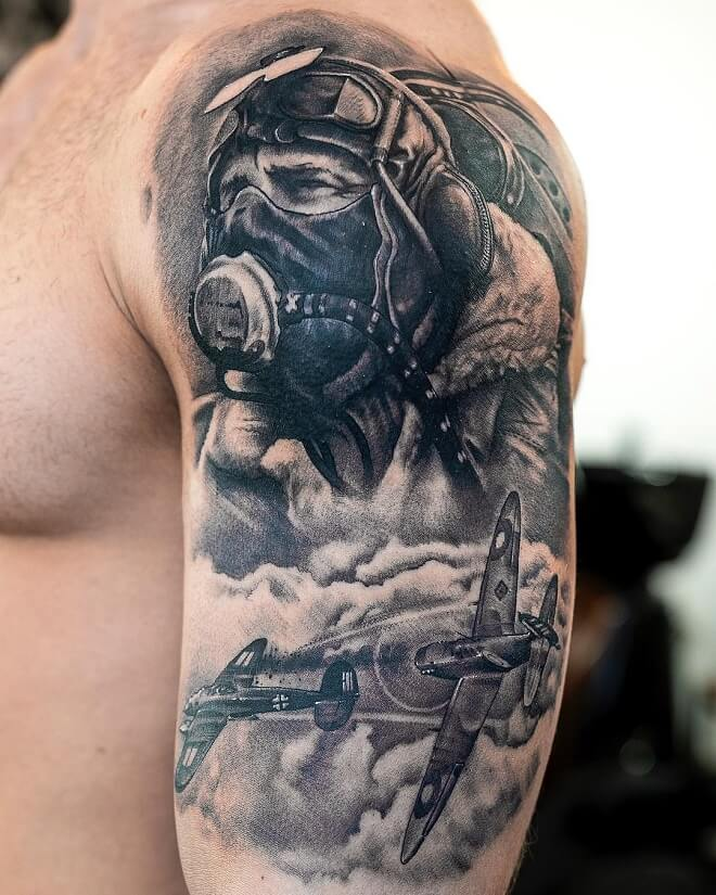 Top 30 Military Tattoos For Men Powerful Military Tattoos