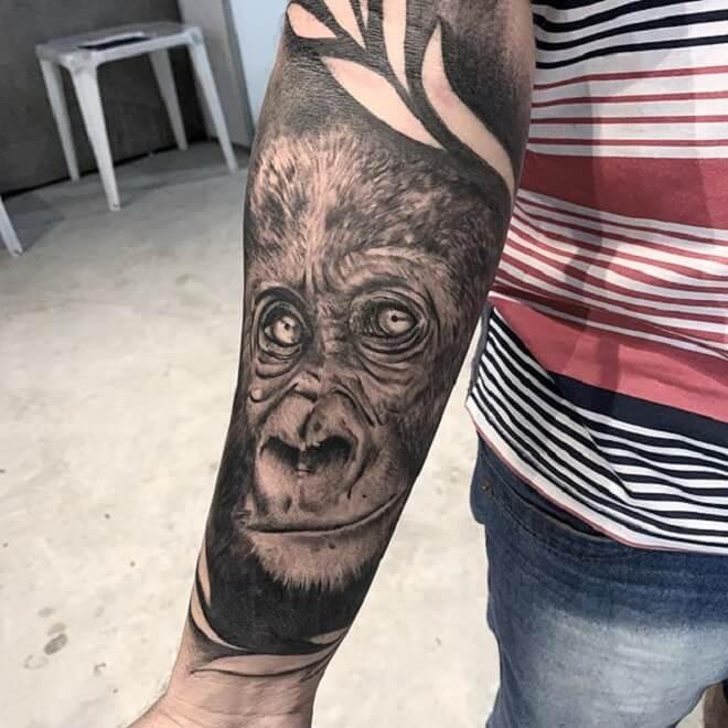 tattoo macaco