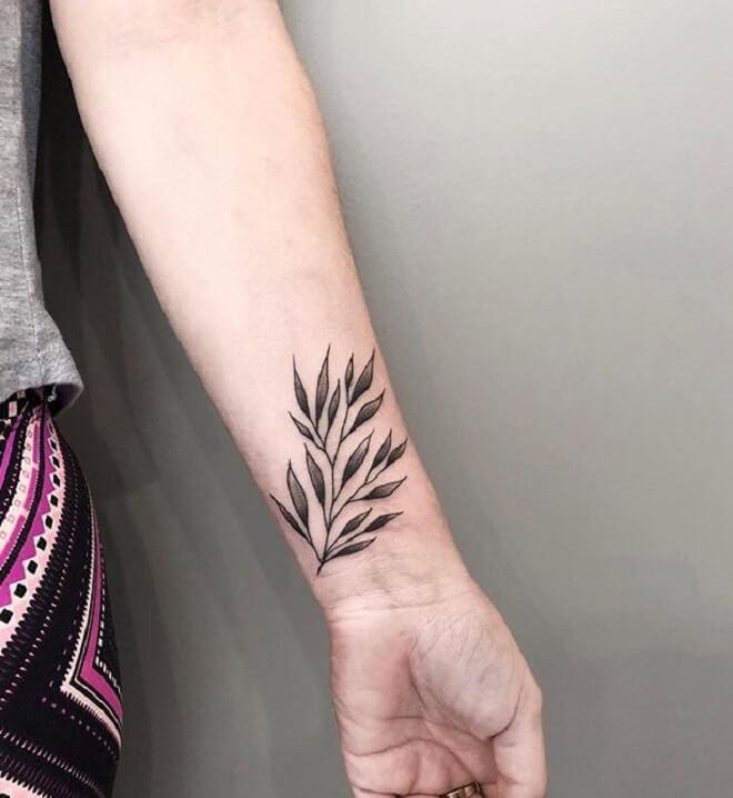 Amazing Flower Tattoo