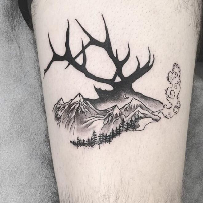 Amazing Mountain Tattoos