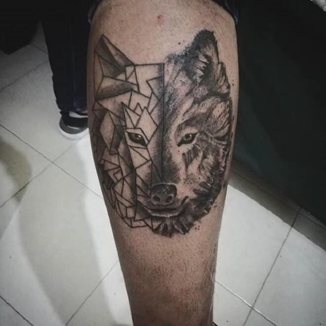 Animal Geometric Tattoo