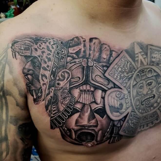 Aztec Spain Tattoos